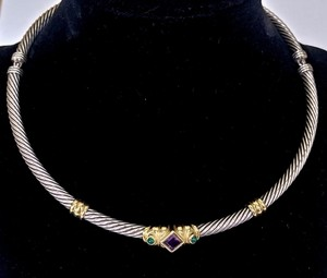 David Yurman David Yurman Renaissance Choker Necklace