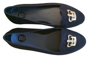 Melissa Crown Black Flats