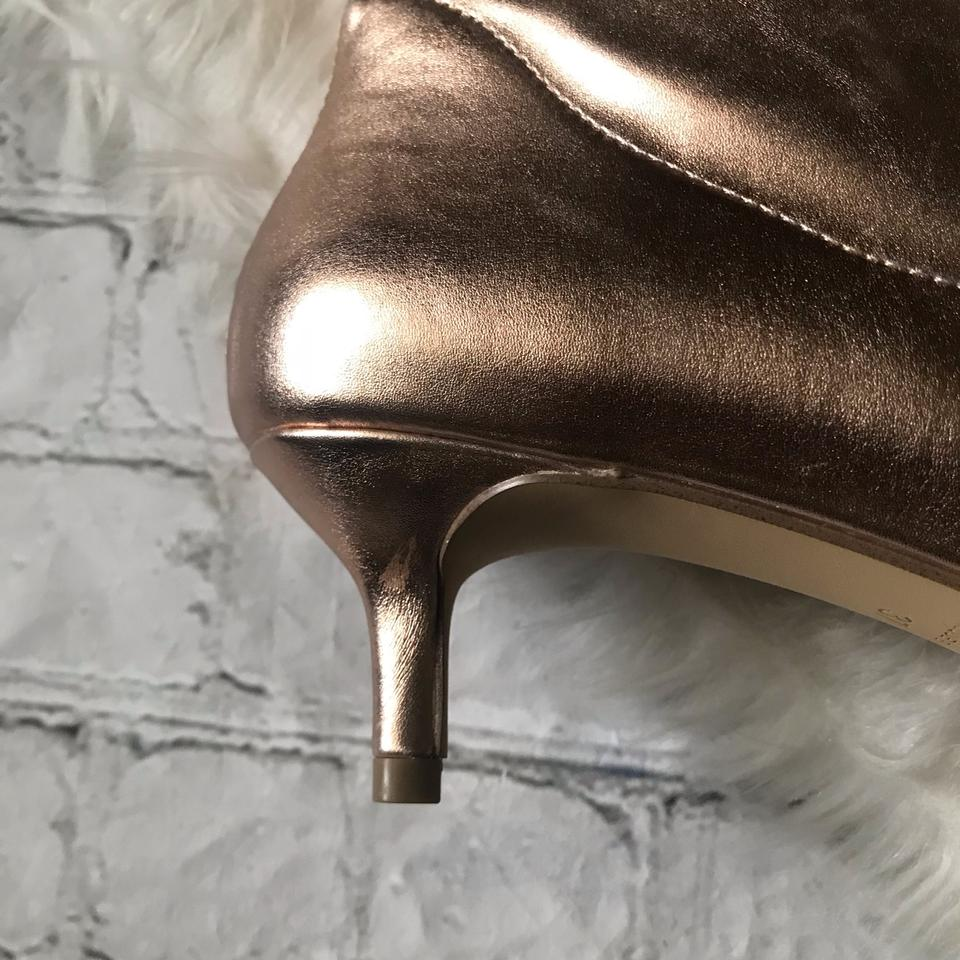 c772f1a5394 Free People Rose Gold Marilyn Kitten Heel Boots Booties Size US 7 ...