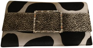 Manolo Blahnik Back and white Clutch