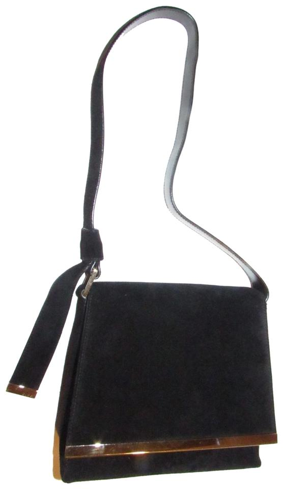 b0272f4a619b Gucci Nwt/New Old Stock Suede/Leather Bold Gold Accents Tom Ford Era Purse  ...