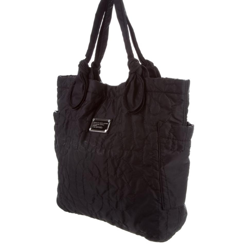 2b9e7c572c6d Marc by Marc Jacobs Quilted Core Pretty Black Nylon Tote - Tradesy