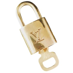 Louis Vuitton Louis Vuitton Lock & Key for use with: Speedy Alma Elipse Neverfull Ellipse Keepall