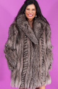 Saga Furs Fox Fox Red Fox Fox Blue Fox Fur Coat
