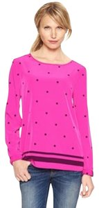 Gap New With Tag Nwt Jcrew Tall Size Dupe Top Bright pink