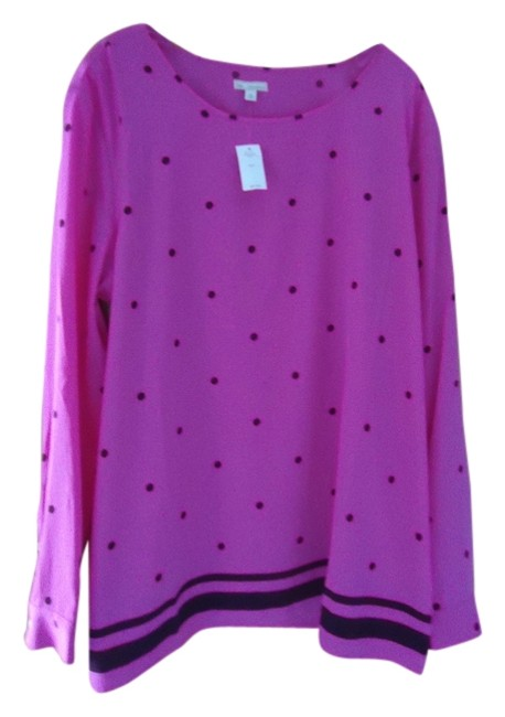 Gap New With Tag Jcrew Tall Size Dupe Top Bright pink