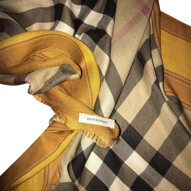 Item - Gold Brown Yellow... Signature Vintage Scarf/Wrap