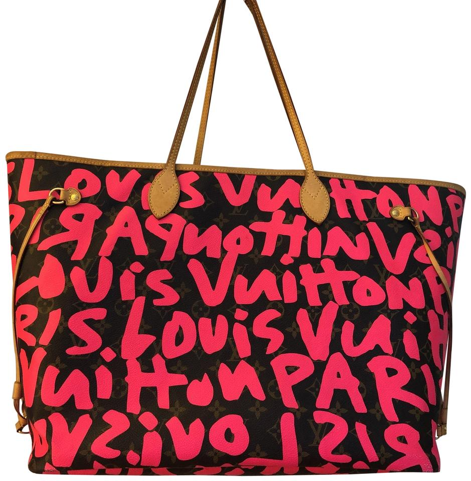 Louis Vuitton Neverfull Stephen Sprouse Limited Edition Gm Monogram ... 8d51c0f14314a