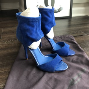 B Brian Atwood Blue Sandals