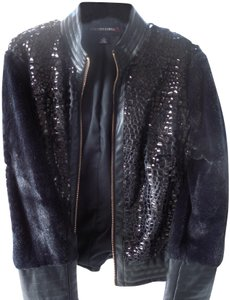 Colleen Lopez BLACK Leather Jacket