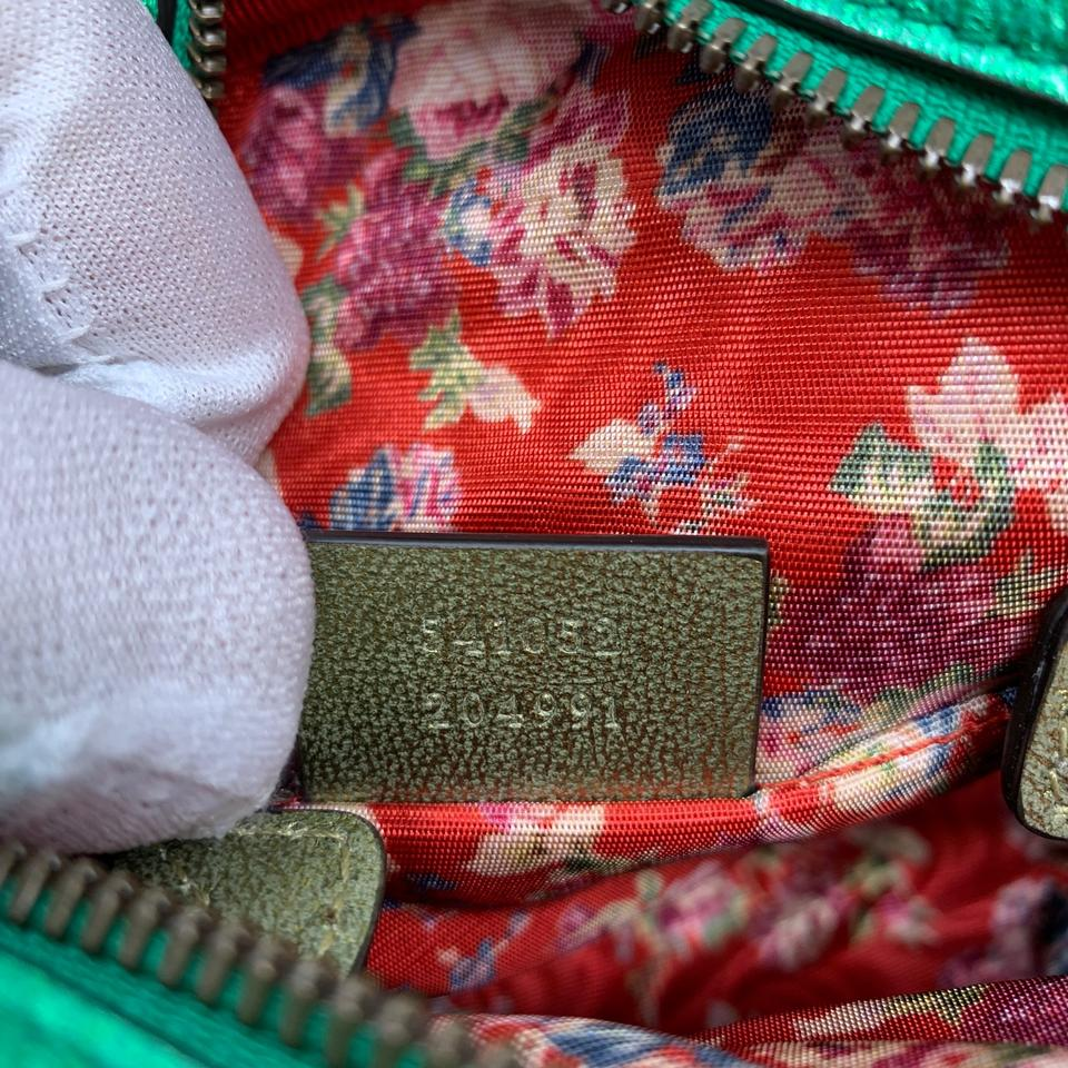 c6a0f5bb3b0a Gucci Laminated Camera Shoulder Trapuntata Quilted Matelasse Red and ...