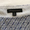 Banana Republic Blue & White Easy Care Bow Sleeve Blouse Size 4 (S) Banana Republic Blue & White Easy Care Bow Sleeve Blouse Size 4 (S) Image 3
