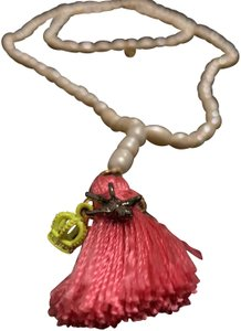Juicy Couture Juicy Couture pearl tassel necklace