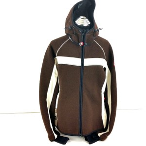 Dale of Norway Ski Windstopper Weather Proof Winter Snow Brown & Off White Jacket