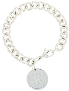 Tiffany Co Cable Chain Bracelet 6 3 4
