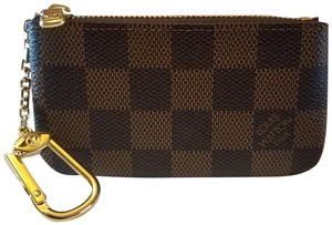Louis Vuitton Brand New Key Cles Wallet Damier Ebene