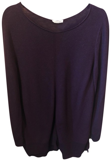 Item - Plum Purple Sweater Mid-length Short Casual Dress Size 10 (M)
