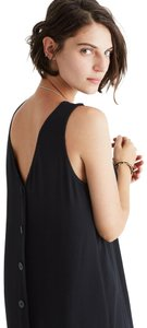 30eac230541 Black Maxi Dress by Madewell Maxi Simple V-neck Classic