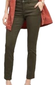 Anthropologie Skinny Pants Holly (Army Green)