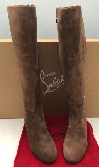 Christian Louboutin Brown Boots Image 2