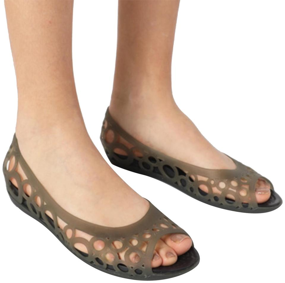 c8576de4 Crocs Brown Adrina Flat Sandals Size US 8 Regular (M, B) - Tradesy