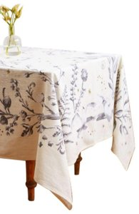 Anthropologie Ivory Ice Storm Tablecloth Other