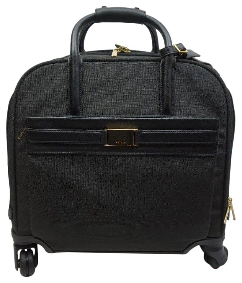 553a5ea801 Tumi 73646d Larkin Shannon Compact Wheeled Carry-on Luggage Black ...