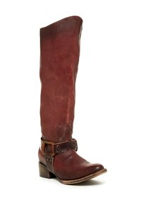 FREEBIRD by Steven Rust Red Tall harness Boots