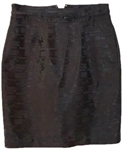Apostrophe Mini Skirt black