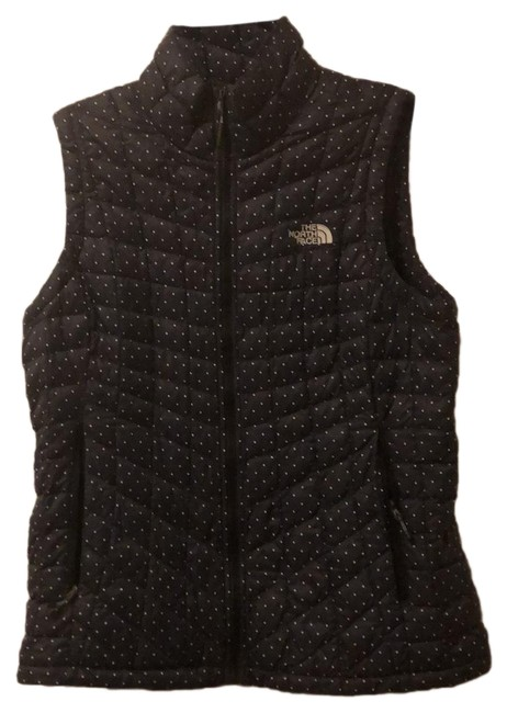 Item - Black with White Polka-dots 751519 Vest Size 8 (M)