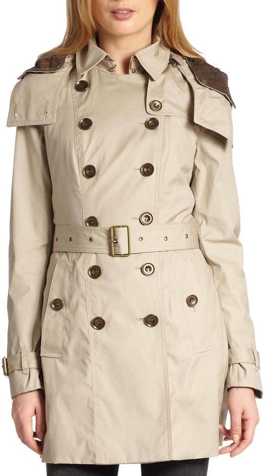 diverse styles reasonable price lowest price Burberry Women's Natural 'reymoore' with Detachable Hood & Liner Coat Size  10 (M) 35% off retail