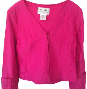 Chanel hot pink Jacket