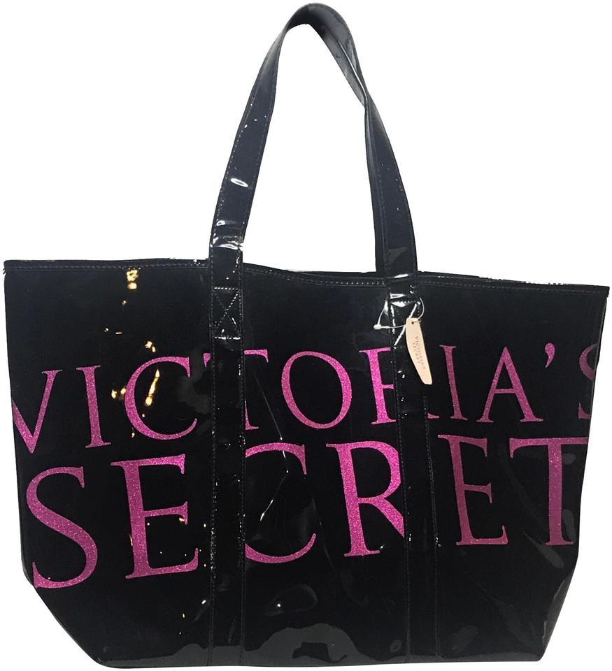 Victoria S Secret Large For Beach Gym School Travel Black Pink