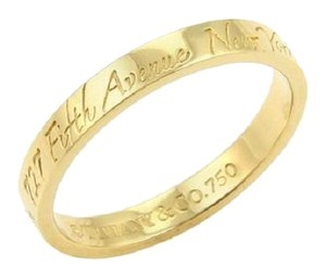 Tiffany & Co. Tiffany & Co. 18kt Yellow Gold 17468 Notes Band Ring Size: 7
