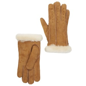 UGG Australia NWT ugg Classic Perforated Genuine Dyed Sheep Shearling Gloves