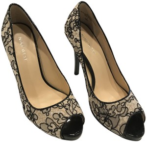 Nine West Heel Open black with lace Formal