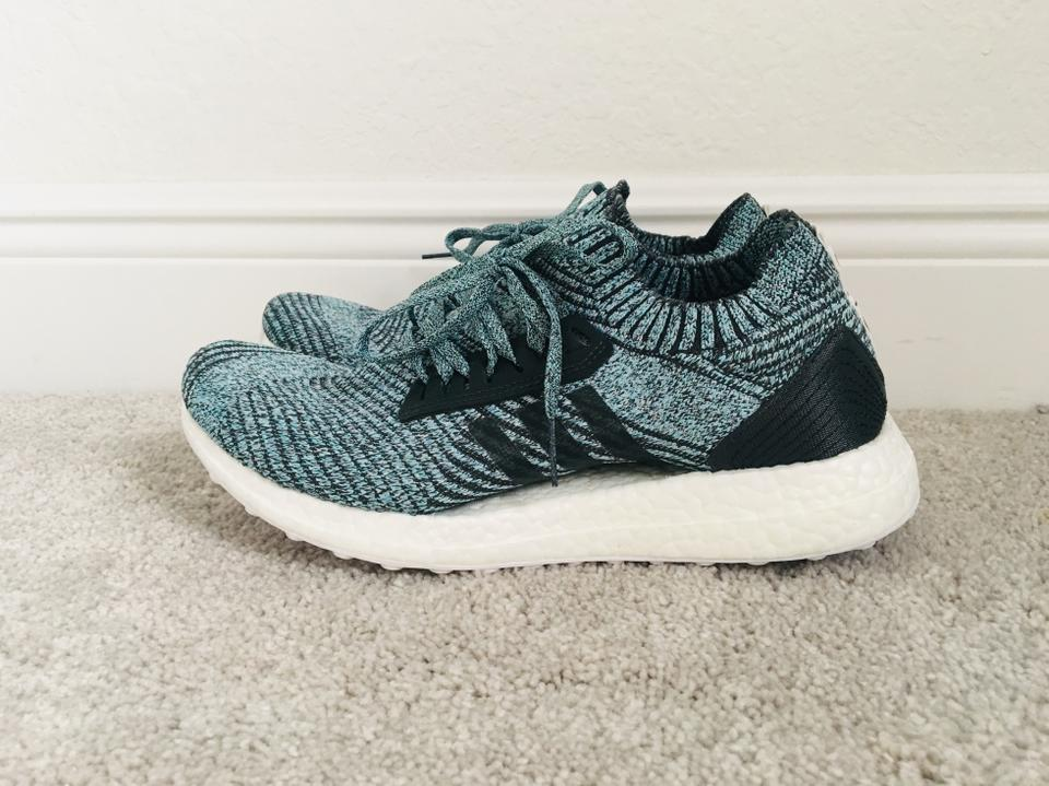 427c3e4706f adidas Carbon Greenish Blue Women s Ultraboost X Parley Ltd Running ...