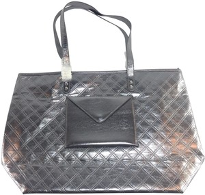 Bath and Body Works Tote in silver/charcoal