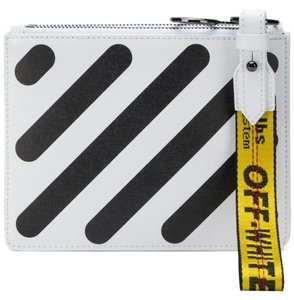 Off-White™ Wristlet in black and white