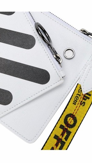 Off-White Wristlet in black and white Image 1