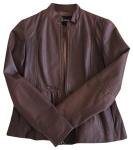Max & Co. Brown Leather Jacket