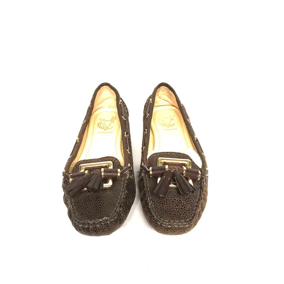 b5403dacbe0 Vince Camuto Brown Vi-dakota Flats Size US 7.5 Regular (M
