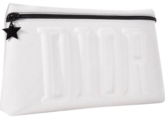 Preload https://img-static.tradesy.com/item/24533037/dior-white-with-black-lining-inside-pouch-cosmetic-bag-0-1-540-540.jpg