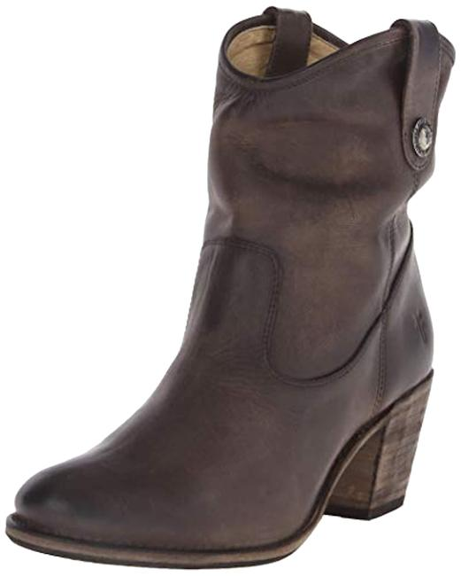 Item - Slate Jackie Button Short Boots/Booties Size US 7 Regular (M, B)