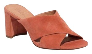 Madewell Coral Mules