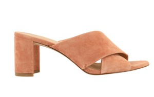 Madewell Pink Mules