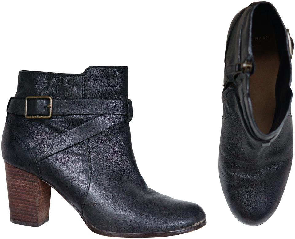 8620e46ace1 Cole Haan Black Cassidy Buckle Leather Boots/Booties. Size: US 7 ...