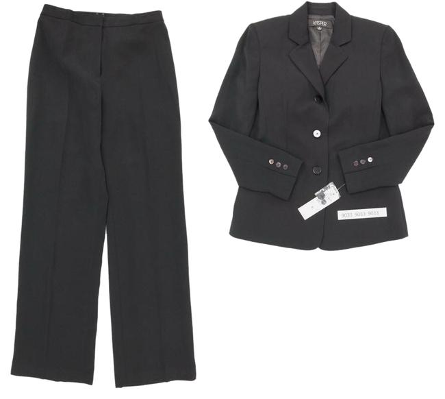 Item - Black Classic Lined Single Breasted Pant Suit Size 6 (S)