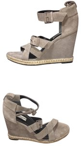 Balenciaga Gray Wedges