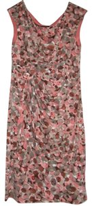 Rosy/White/burgundy Maxi Dress by Connected Apparel